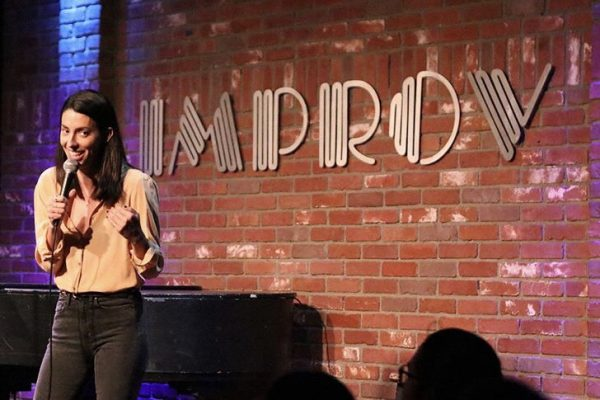 Jade & Jeff at the Hollywood Improv